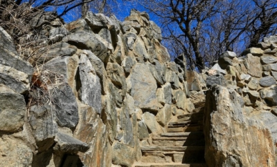 stone steps towards future